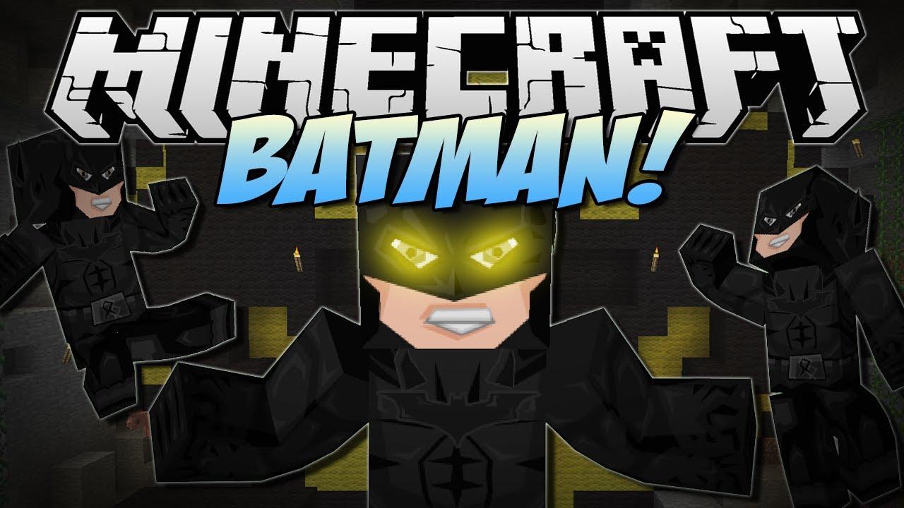Minecraft | BATMAN! (Become The Dark Knight!) | Mod Showcase [1.6.2 ...