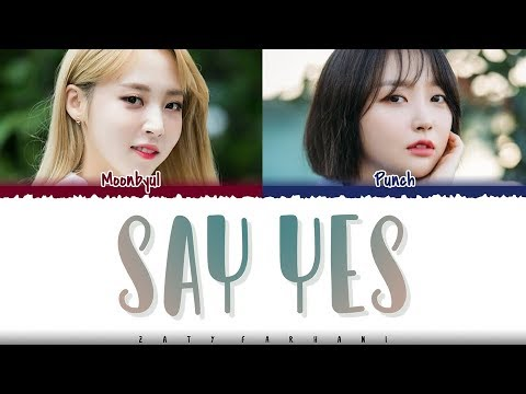 PUNCH - &39;SAY YES&39; Feat Moonbyul  Color CodedHanRomEng