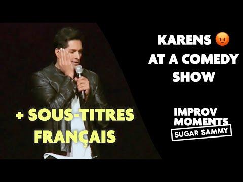 Sugar Sammy | Karens at a Comedy Show + sous-titres français