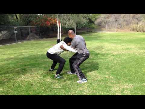 Freestyle Fixed Step Push Hands - Sports Tai Chi Off-Season Training