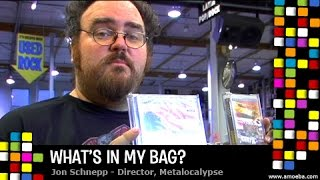 Jon Schnepp (Metalocalypse) - What's In My Bag?