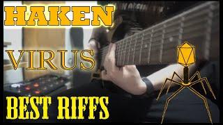 HAKEN - VIRUS (2020) Best Riffs - COVER #Haken #Virus