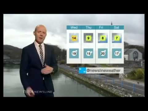 BBC Barra Best Weather Blooper very funny