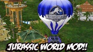 Jurassic Park Operation Genesis - CONSTRUYENDO JURASSIC WORLD MOD!!!!!