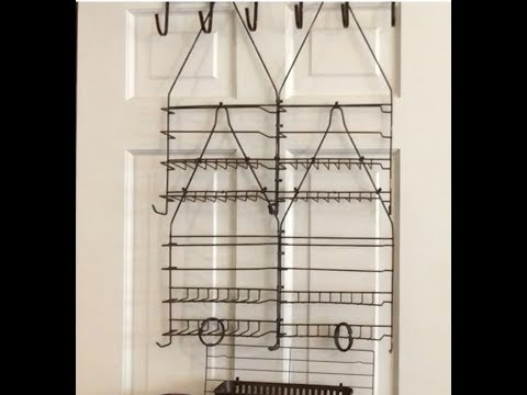 Dollar Tree DIY Door Organizer - Taking it to another level! Craft supplies - Organizing - Fun Hack