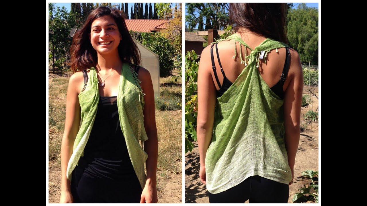 How To Tie A Scarf Into A Vest