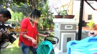 Aktif Pelayanan Pinkan Mambo dan Suami Bagi Tugas Soal Anak