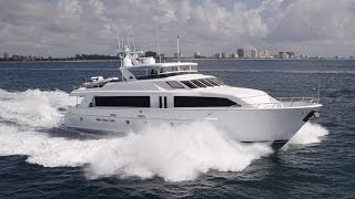 TRIPLE ATTRACTION 100' Hatteras Yacht for sale by RJC Yacht Sales & Charter