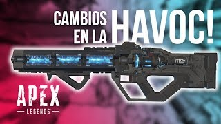 LA HAVOC AHORA ESTA ROTISIMA! APEX LEGENDS