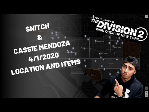 the-division-warlords-of-new-york-2-cassie-mendoza-items-&-snitch-location-april-1st-2020