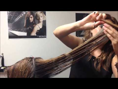 Long Layered Haircut By Celina