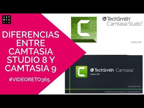 Diferencias entre Camtasia studio 8 y Camtasia 9 - #editor de video