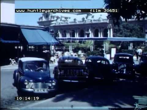 Nice and Paris, 1950's - Film 30651