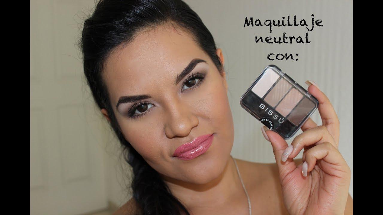 Bissu cuart 28 Maquillaje Neutral /Low Cost