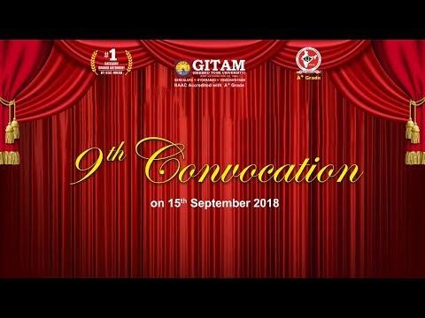 9th Convocation-15/09/2018