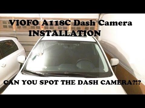 VIOFO A118C Dash Camera Installation in Subaru Forester
