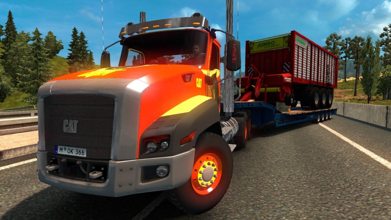 CAT CT660 v2.1 1.26 ETS2 (Euro Truck Simulator 2) Free Download ...