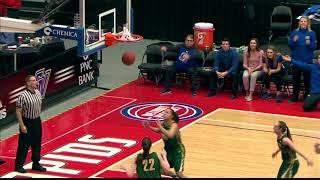 2017-18 GVSU Women's Basketball Highlights vs. Wayne State