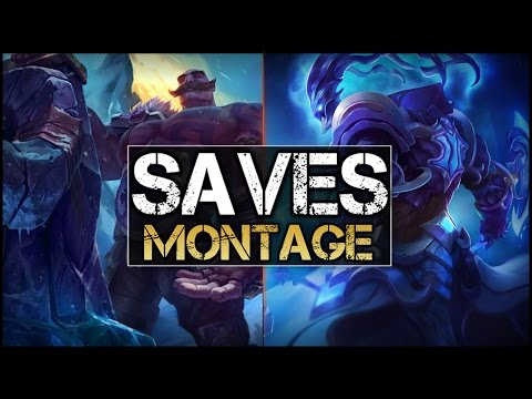 Best Saves Montage - League Of Legends
