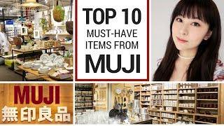 Top 10 Things to Buy at Muji | JAPAN SHOPPING GUIDE