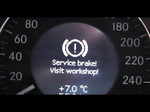 Поломка SBC. Понты дороже денег. Часть 6. Mercedes W211