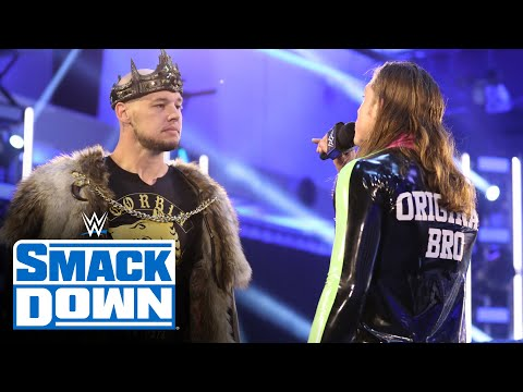 King Corbin barges in on Matt Riddle's interview: SmackDown, July 3, 2020