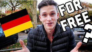 LIVING for FREE in GERMANY, HAMBURG for 24 HOURS