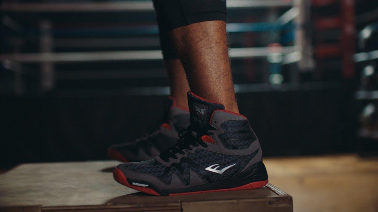 PIVT Boxing Shoe - YouTube