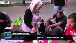 مصر العربية | تونس تتحدى الارهاب بإفطار جماعي في قلب العاصمة