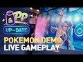 E3 Pokemon Sword and Shield Live Gameplay - Nessa Gym Battle - PP Update