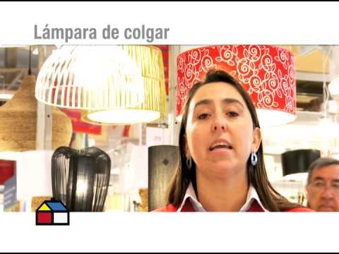 C mo elegir una l mpara para el comedor youtube - Lamparas para comedor ...