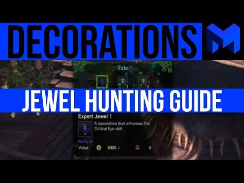 Monster Hunter World: How to get the best Decorations / Jewels