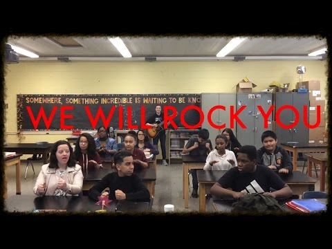 We Will Rock You - Rock Cycle Song *Written by Period 2*