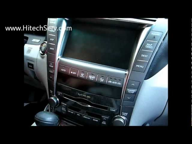 how to remove radio navigation cd changer from lexus ls460 2008 Lexus LS460L Undercarriage Parts how to remove radio navigation cd changer from lexus ls460 2008 for repair youtube