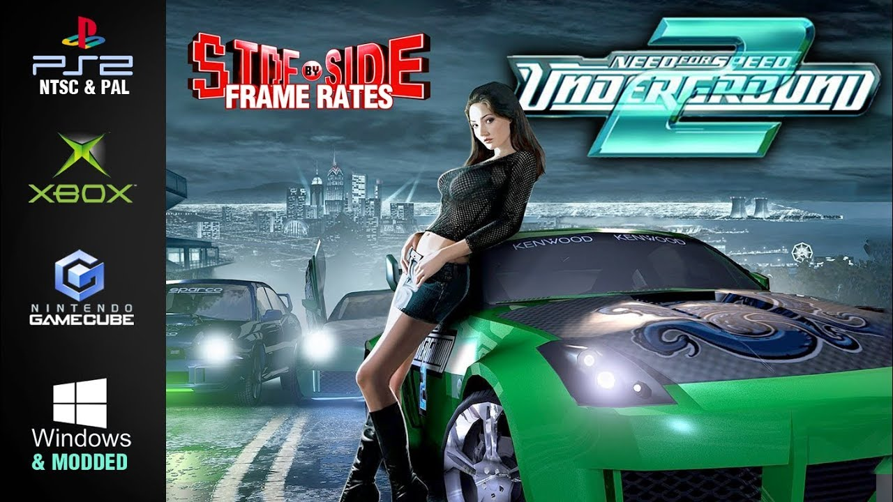 Need For Speed Underground 2 Side By Side Frame Rates Ps2 Pal