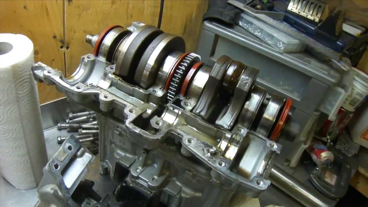 Seadoo Engine Tear Down Part2 The Flying Flywheel Youtube