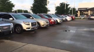 Demo Program Vehicles at McKinney Buick GMC