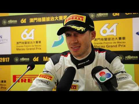 FIA GT World Cup - Edoardo Mortara Post Qualifying Race Interview