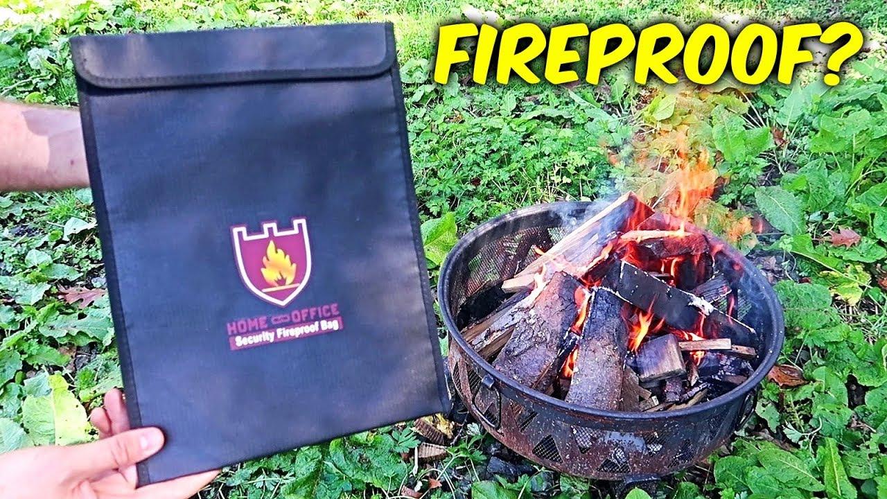 Is Fireproof Money Bag Actually