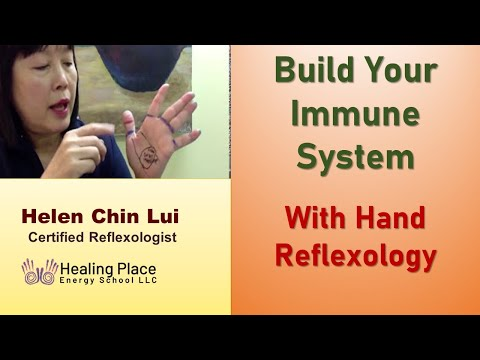 Build Your Immune System - Hand Reflexology Tip