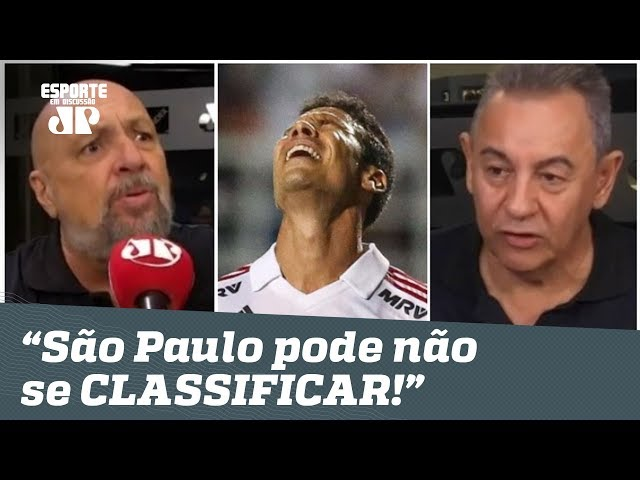"""""""Era só o que FALTAVA!"""" Jornalistas ALERTAM São Paulo no Paulistão!"""