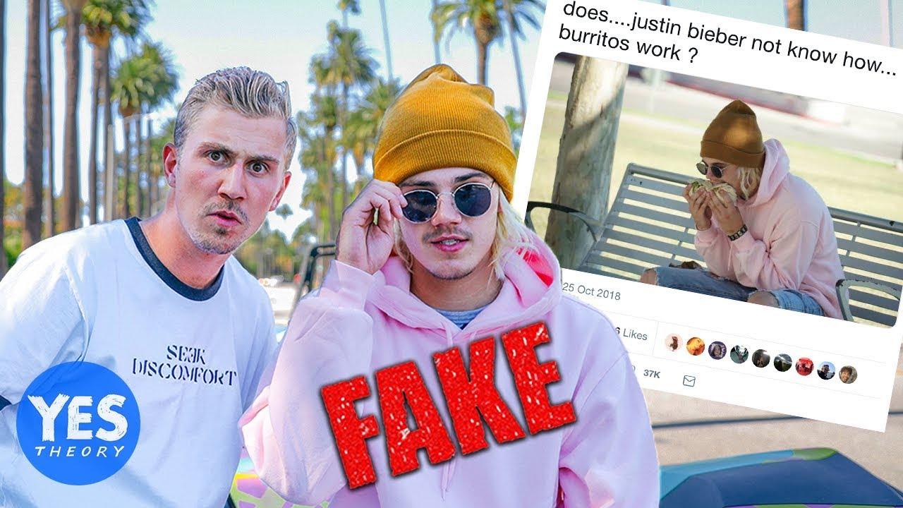 Yes Theory Fake Bieber Burrito