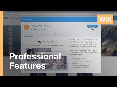 Adding A Forum To Your Website - Wix Forum | Wix.com