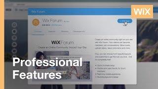 Adding A Forum To Your Website - Wix Forum   Wix.com