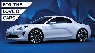 NEW Alpine Vision Concept: First Images Of Porsche Rival Revealed - Carfection