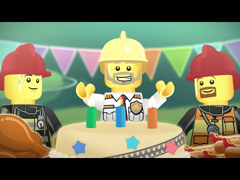Fire Chief's Day - LEGO City – Movie Mixer Mashup