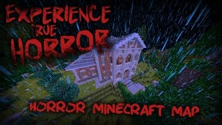 EXPERIENCE TRUE HORROR - HORROR MAP MINECRAFT 1.8 TRAILER(, 2015-08-12T16:00:02.000Z)