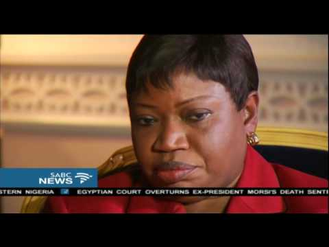 ICC Chief Prosecutor on African States leaving the ICC