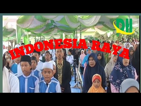 Semua Menangis Saat Menyanyikan Lagu Wajib Indonesia Raya (Hubbul Watthon Minal Iman)