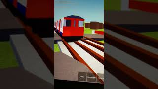 New metro trains departs ossing to city on Roblox trains classic 08/01/2018